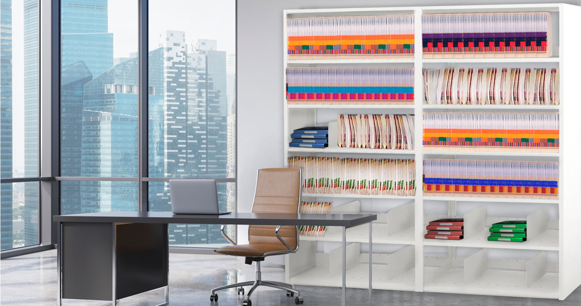 City Loft Office Filing Shelves